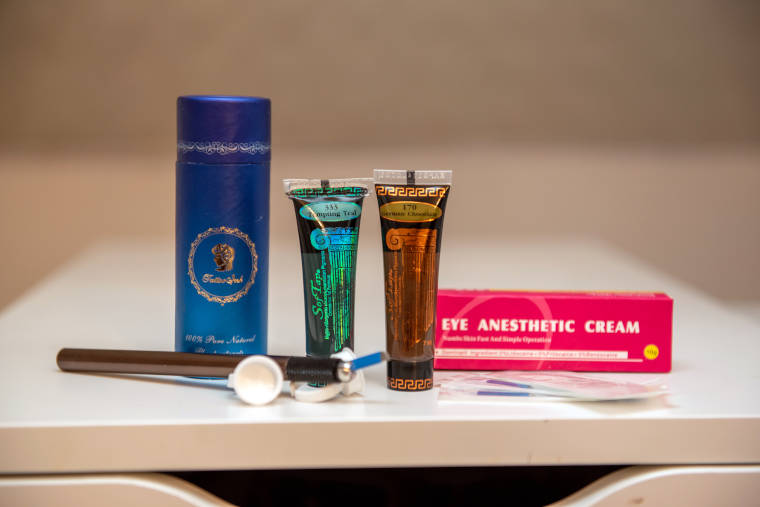 Beautyprodukte für Permanent Make-up